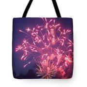 Fireworks 2014 X Tote Bag