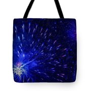 Fireworks At Night 1 Tote Bag