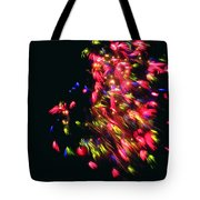 Fireworks At Night 4 Tote Bag