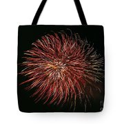 Fireworks At Night 5 Tote Bag