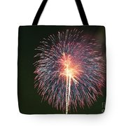 Fireworks At Night 9 Tote Bag
