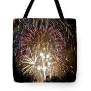 Fireworks Bursts Colors And Shapes 1 Tote Bag