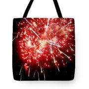 Fireworks Display At Niagara Falls Tote Bag