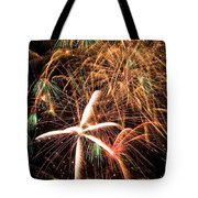 Fireworks Exploding Everywhere Tote Bag by Garry Gay