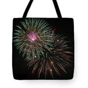 Fireworks Exploding Tote Bag