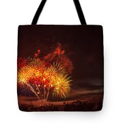 Fireworks Finale Tote Bag by Robert Bales