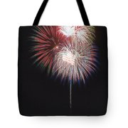 Fireworks For 4th Of July Tote Bag