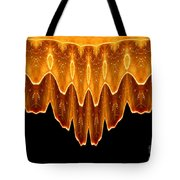 Fireworks Melting Abstract Tote Bag