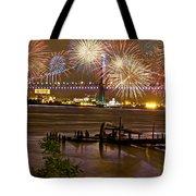 Fireworks On The Ben Tote Bag
