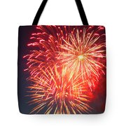 Fireworks Series II Tote Bag by Suzanne Gaff
