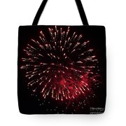 Fireworks Series Ix Tote Bag by Suzanne Gaff