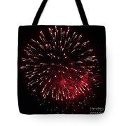 Fireworks Series Ix Tote Bag