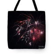 Fireworks Series Xi Tote Bag by Suzanne Gaff