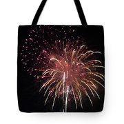 Fireworks Series Xiv Tote Bag by Suzanne Gaff