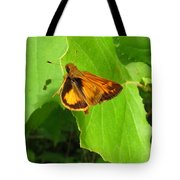 Firey Skipper Butterfly Tote Bag