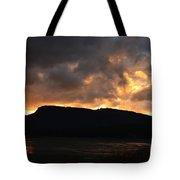 Firey Sky Tote Bag