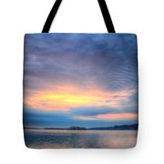 Firey Sunrise Tote Bag