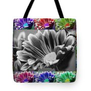 Firmenish Bicolor In All Shades Tote Bag