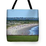 First Beach Newport Ri Tote Bag