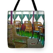 First Class Lounge In S S Klondike On Yukon River In Whitehorse-yt Tote Bag