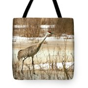 First Crane Tote Bag