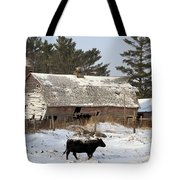 First Day Of Winter Tote Bag