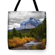 First Dusting Of Snow Tote Bag
