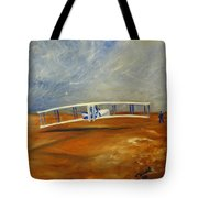 First Flight Aka Kittyhawk Dream Tote Bag