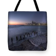 First Hint Of Sunlight Tote Bag