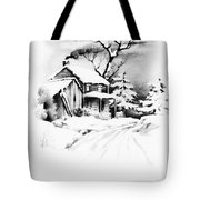 First House Tote Bag