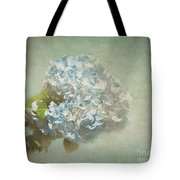 First Hydrangea - Texture Tote Bag