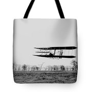 First In Flight Tote Bag