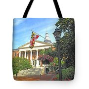 First In The Nation Tote Bag