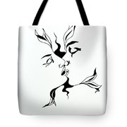 First Kiss Tote Bag