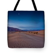 First Light Dunes Tote Bag