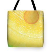 First Light Original Painting Tote Bag