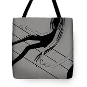 First Love   Number 4 Tote Bag