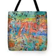 First Microseconds Tote Bag