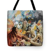 First Nations 42 Tote Bag
