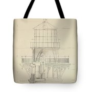 First Order Lighthouse Cape Hatteras Tote Bag