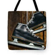 First Pair Of Ice Skates Tote Bag