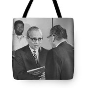 First Recorded Peace Treaty Tote Bag