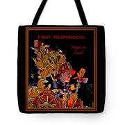 First Responders - Angels On Earth Tote Bag