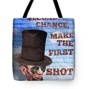 First Shot Tote Bag
