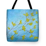 First Signs Of Spring Tote Bag