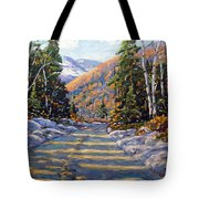 First Snow By Prankearts Tote Bag