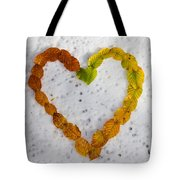 First Snow Love Tote Bag
