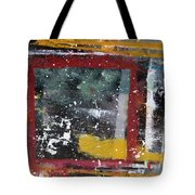 First Snowfall On The Square Tote Bag