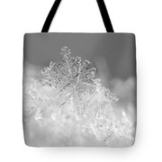 First Snowflake Tote Bag by Rona Black
