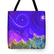 First Star Sunrise Tote Bag
